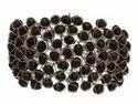 Black Crystal Bracelet Bangles