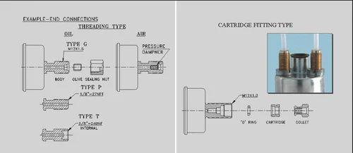 Veethree Mechanical Air / Oil Pressure Gauges (Single ... on