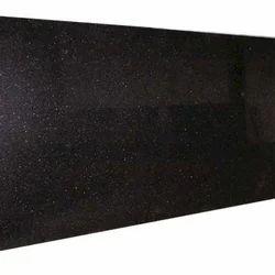 Black Galaxy Granite Stone Slab, Thickness: 15 - 20 mm