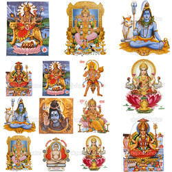 God Statue Tiles