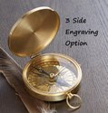 Sundial Compass Gift For Husband,  Compass, Gift Boyfriend Personalized Anniversary Men Gift