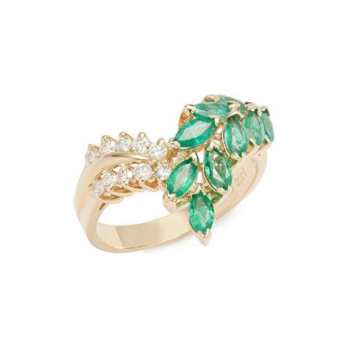 Emerald Gold Ring at Rs piece