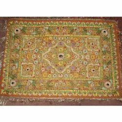 Handmade Kashmiri Jewel Carpet