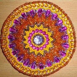 Assorted Bead Coaster