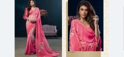 T-M Panaceh Vol-14 Stylish Party Wear Georgette Saree