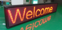 Rectangle Red Moving Message Led Displays, For Outdoor