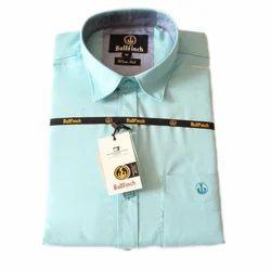 Mens Pure Cotton Plain Shirt