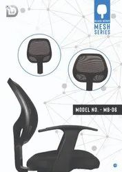 Diya Plastic Movable Office Chair Parts (back rest), For Back Support, Size: Medium