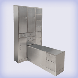S/Steel Lockers