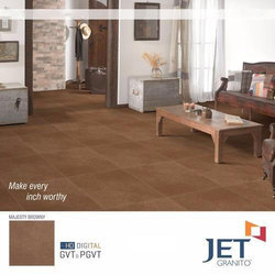 Rustic Brown Glazed Porcelain Tile