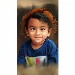 Digital Portrait Painting Services
