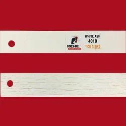 White Ash High Gloss Edge Band Tape