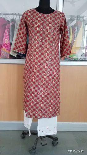 printed kurti