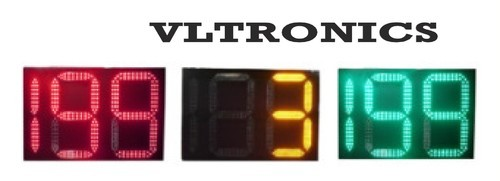 Led Traffic Signal Light Digital Countdown Timer 2 5 Digit Wired / Wireless