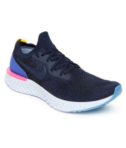 ética Agnes Gray Indirecto  Men Nike React Blue, Size: 7-10, Rs 1700 /pair Shopperhub | ID: 20673420062