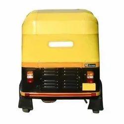 Yellow Auto Rickshaw Hood