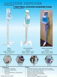 Wall mounted Foot dispenser