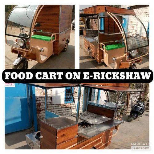E-food Carts - Food Carts On E-Rickshaw Manufacturer from