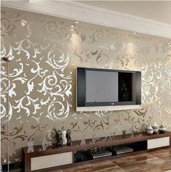 Charming Astounding Wallpapers Living Room India Contemporary   Simple Design .