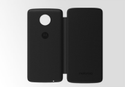 Black Motorola Moto Folio Mobile Cover