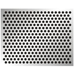SS Round Hole Perforated Sheet