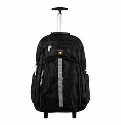 Polyster Plain Trolley School Bag, For Individual