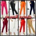 Cotton Pencil Pants