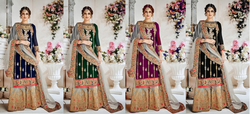 Designer semi stich Suit