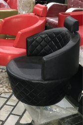 Stainless Steel saloon chair, For Professional, With Footrest