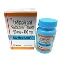 Myhep Lvir Ledipasvir and Sofosbuvir Tablets