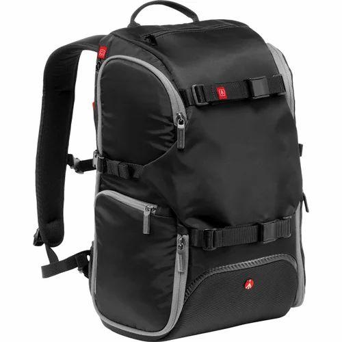 0095b8caf1 Black Nylon Travel Backpacks
