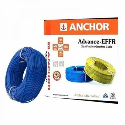 Red Pvc Anchor Electrical Wires, 240, For Regular