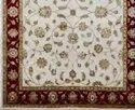 Hand Knotted Design Wool Silk Designer Carpet
