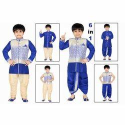 Kids Blue Sherwani