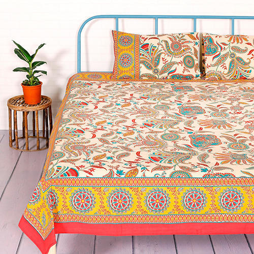 Printed Cotton Bedsheet Set