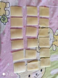 Square Papad (china papad), Packaging Size: 30 Kg