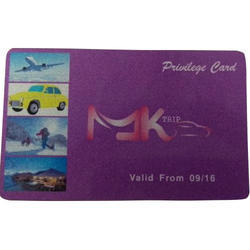 Travel Public Privilege Card