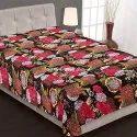 Twin Kantha Handmade Tropicana Bedspread