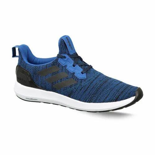 Mens Blue Adidas Running Zeta 1 Point 0