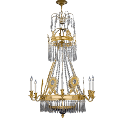 Decorative Glass Chandelier