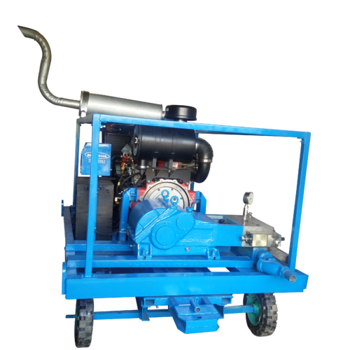 Semi-Automatic High Pressure Water Jet Cleaning Pump, Max