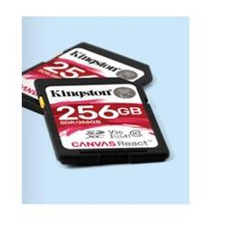 Kingston Canvas React SD Card 128 GB