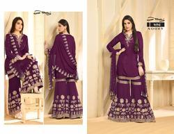 32798bc17b Dress Material - Stylish Party Wear Georgette Suit Manufacturer from ...