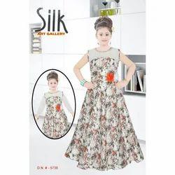 Silk Art Gallery Fancy Girls Dress