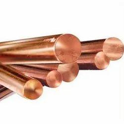 Beryllium Round Copper Rod