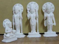 Marble Ram Seeta Laxman and Hanuman Statue