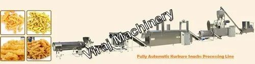 Fully Automatic Kurkure Snacks Processing Line