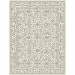 Printed Rectangular Designer Hand Knotted Carpet, Size: 5 X 8 feet