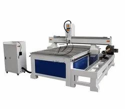 4 Axis 1325 Woodworking CNC Router with Independent Dia 300mm Rotary Axis, DSP A18 Control