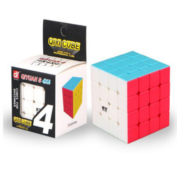 Qiyi 4 by 4 Magic Rubik Cube - Frosted Surface Advantage - Learn the Advantages in Description